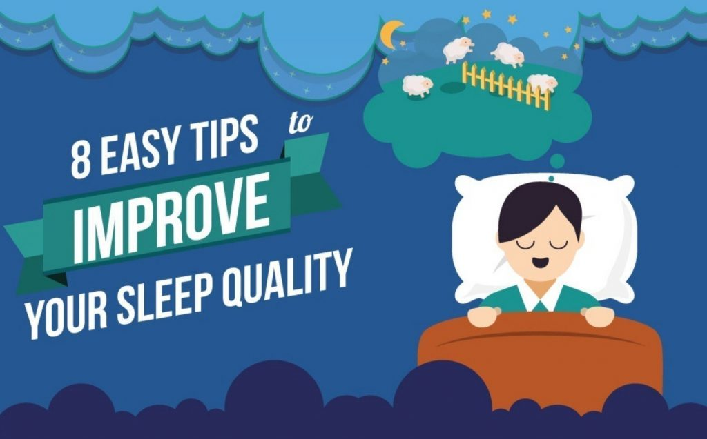 Eight ways to improve your sleep