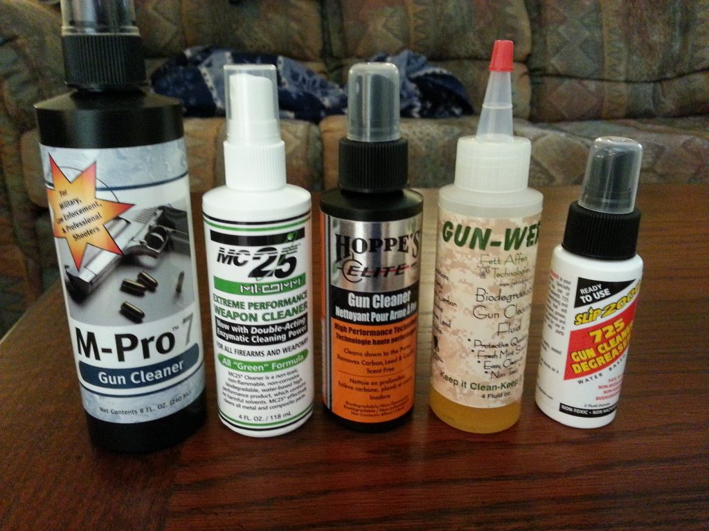 How to choose a right Gun Cleaner