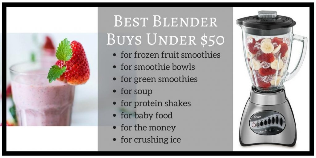 Top Reviews for Best Blender under 50$